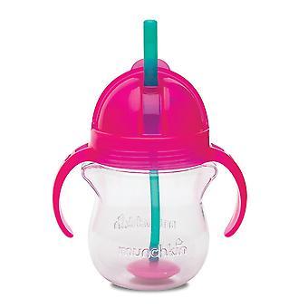 Munchkin Click Lock Tip & Sip Straw Cup 200ml - Orange