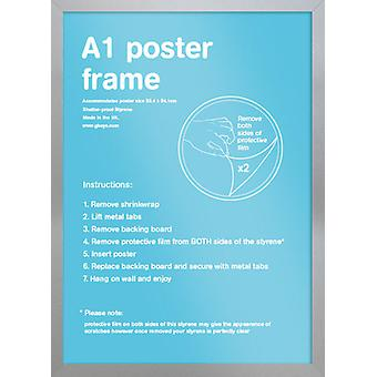 Eton hopea kehyksen A1-juliste / tulostaa kehyksen