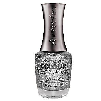 Artistic Colour Revolution Professional Reactive Hybrid Nail Lacquers - Suspicious 15ml (2303102)
