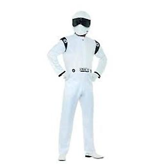 Top Gear, die Stig Kostüm, Topgear lizenziert e-Fancy-Kleid, Medium