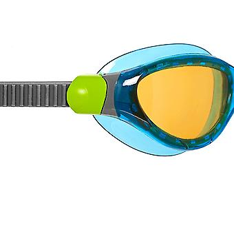 Zoggs Swimming Goggles 2.0 with  Anti-Fog Lenses in Blue/Grey/CV - One Size
