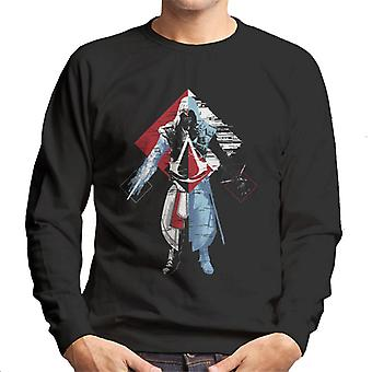 Assassins Creed Deconstruct Ezio Men's Sweatshirt