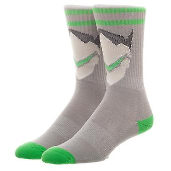 Athletic Socks - Overwatch - Character Icon New Licensed so6ky6ovw