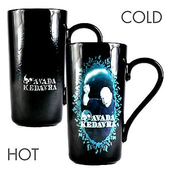 Harry Potter Voldemort Heat Changing Latte Mug