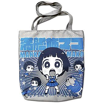 Tote Bag - KILL la KILL - Mako & Guts Blue New Anime Licensed ge82296