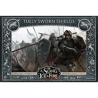 Tully Sworn Shields Song Of Ice and Fire Expansion Pack