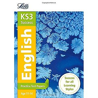 KS3 English: Practice Test Papers (Letts KS3 Revision Success - New 2014 Curriculum) (Letts Key Stage 3 Revision)