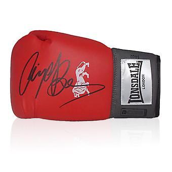 Nigel Benn firmato guantoni da boxe