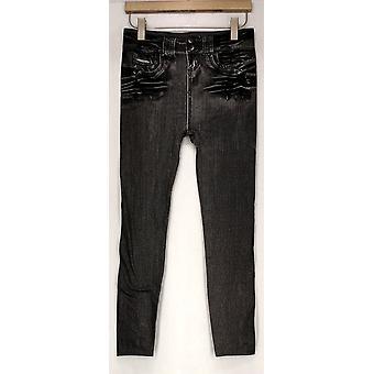Slim 'N Lift Leggings Caresse Jeggings Ankle Length Black C415986