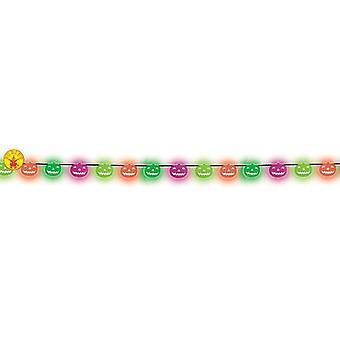 Rubie Garland Neon kurpitsa 2M (vauvat ja lapset, puvut)