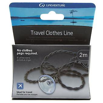New Lifeventure Travel Clothes Line Black