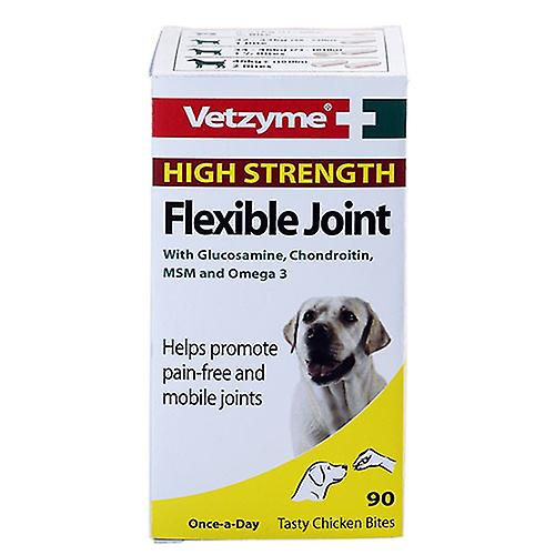 Vetzyme Flexible Joint, Extra strength Tablets for cats, dogs and pet 30 tablets