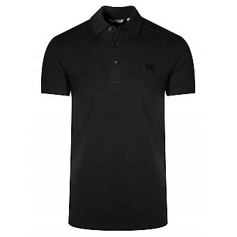 Antony Morato Sport Black Logo Polo Shirt