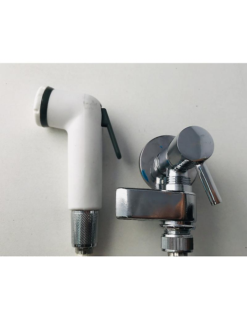 Hydroscope Kit With Tap AND Revolving Hook, White Set