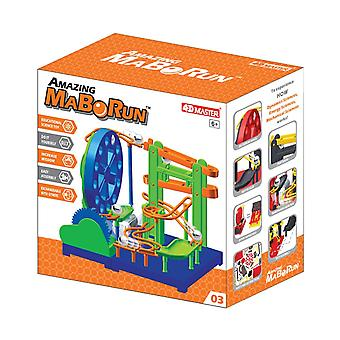 4D Master MaBoRun Amazing Big Wheel Building Kit, Color Varies