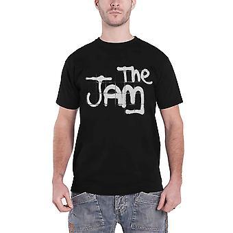 The Jam T Shirt Classic Spray Band Logo new Official Mens Black