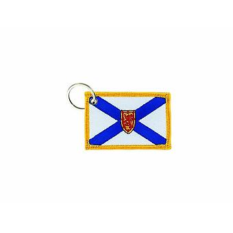Cle Cles Key Brode Patch Ecusson Badge Badge New Scotland Canada