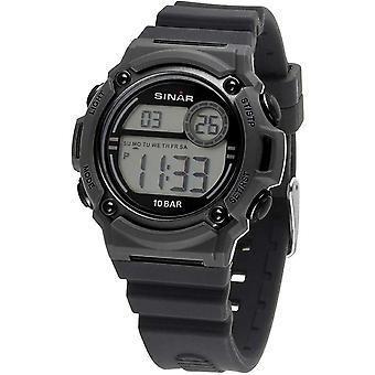 SINAR Youth Watch Wristwatch Digital Quartz Unisex Silicone Strap XE-67-9
