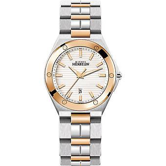 Michel Herbelin 14245-BTR12 Women's Cap Camarat Stainless Steel Wristwatch