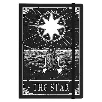 Deadly Tarot The Star A5 Hard Cover Notebook