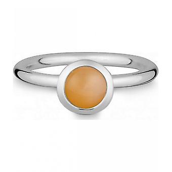 Quinn-zilveren ring met Maansteen-021832649