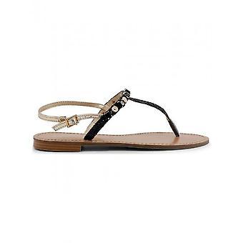 Versace Jeans - Schuhe - Flip Flops - VRBS51_899_NERO - Damen - black,gold - 41