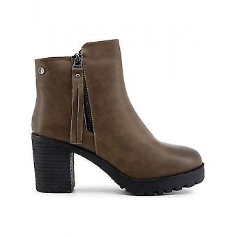 Xti - Schuhe - Stiefeletten - 33859_TAUPE - Damen - sienna - 41