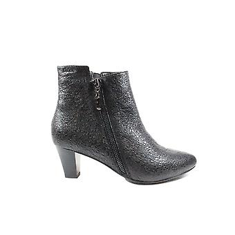 Tizian Leeds 01 Sparkle Textured Leather Womens Heeled Ankle Boots