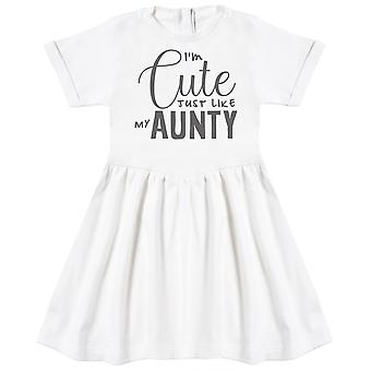 I'm Cute Just Like My Aunty Baby Dress