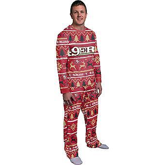 NFL Winter XMAS Pyjama Schlafanzug - San Francisco 49ers