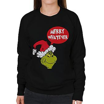 The Grinch Merry Whatever Women's Sweatshirt