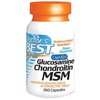 Arts ' s beste, Glucosamine Chondroïtine MSM, 360 capsules