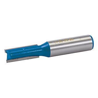12mm Metrica dritta Fresa - 10x25mm