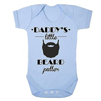 Papá's pequeño tirador de barba babygrow