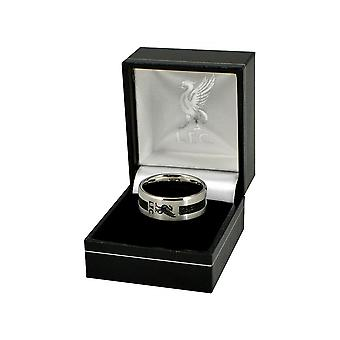 Liverpool FC Black Inlay Ring