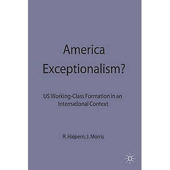 Exeptionalism américain de Halpern. Morris