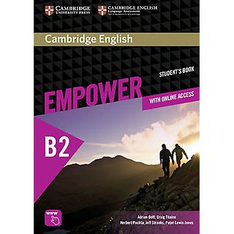 Cambridge English Empower Upper Intermediate Students Book with Online Assessment and Practice and Online Workbook by Doff & AdrianThaine & CraigPuchta & HerbertStranks & JeffLewisJones & Peter