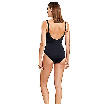 Féraud 3205013-10995 Women's Black One Piece Swimsuit