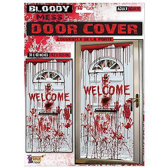 Bristol uutuus verinen Tervetuloa oven kannen koristelu