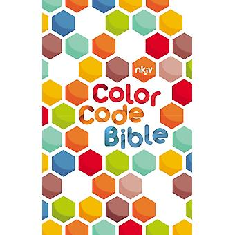 The NKJV Color Code Bible Hardcover  Holy Bible New King James Version by Thomas Nelson