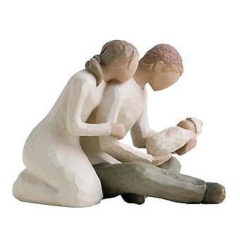 Figurine de vie nouvelle Willow Tree