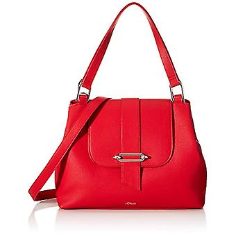 s.Oliver (Bags) 39.001.94.2027 Women's Pockets Red shoulder bag (Red) 10x26x34 Centimeters (B x H x T)