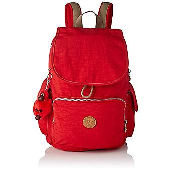 Kipling City Pack - Red Women's Backpacks (True Red C) 32x37x18.5 cm