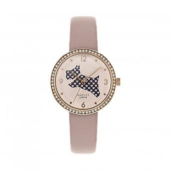 Radley Watches Ry2806 Love Is In The Air Crystal Blush Leather Ladies Watch