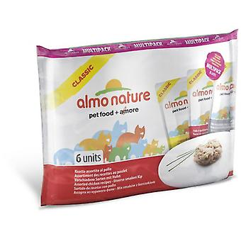 Almo nature Mix Pack Cat Classic Chicken (Cats , Cat Food , Wet Food)