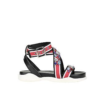 Liu Jo Ezgl060069 Women's Multicolor Fabric Sandals