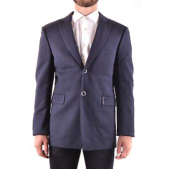 Bikkembergs Ezbc101073 Men's Blue Other Materials Blazer