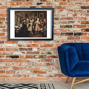 William Hogarth - Well to Do Poster Print Giclee