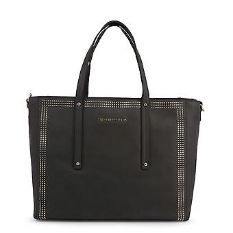 Trussardi Original Women All Year Shopping Bag - Grey Color 49042