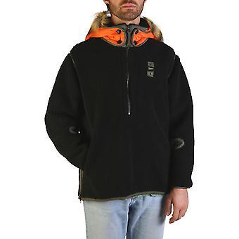 Blauer Original Men Fall/Winter Jacket - Black Color 55489